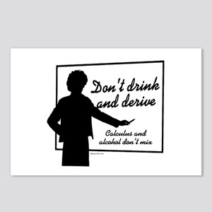 Don't drink and derive ~  Postcards (Package of 8)